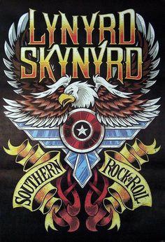Greys Anatomy Memes, Lynyrd Skynyrd, Judas Priest, Black Sabbath, Concert Posters, Picture Design, Classic Rock, Hard Rock, Rock N Roll