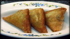 Triangulos de pasta brick rellenos de setas Tapas, Pasta Filo, Relleno, Veggie Recipes, Veggies, Ethnic Recipes, Falafels, Food, Vegetarian Recipes