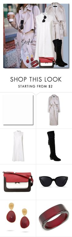 """380"" by believelikebreathing ❤ liked on Polyvore featuring TIBI, T By Alexander Wang, Frye, Marni, 3.1 Phillip Lim, Marco Bicego and INC International Concepts"