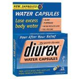Diurex Water Capsules 21 ea - Get rid of excess body water with Diurex Water Capsules. This gentle diuretic is caffeine free and helps reduce excess body water and relieve related menstrual discomfort. Water capsules also help with bloating, puffiness and water weight gain. Enjoy hour-after-hour relief with Diurex.  - http://weightlosshype.com/diurex-water-capsules-21-ea/