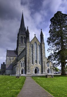 Breathtaking, amazing Killarney Church, County Kerry, Ireland