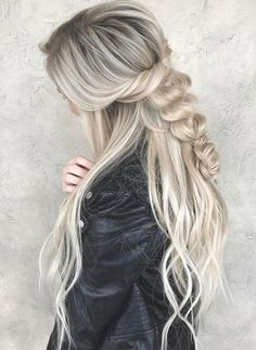 Chic Braided Hairstyles for Long Length