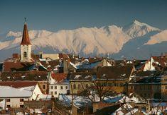 La ciudad medieval de Sibiu.