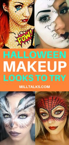 Beautiful Halloween makeup looks to try in 2018