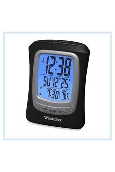 Travel Alarm Clock, Digital Alarm Clock, 4 H, Display, Floor Space, Billboard