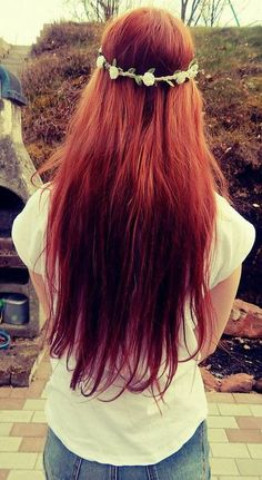 Best Fashion Blogs, Fashion Sites, Red Hair, Cool Style, Hair Makeup, Long Hair Styles, Unique, Photography, Hairstyles