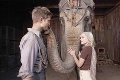 Water for Elephants (film). Produced by Flashpoint Entertainment and Fox 2000 Pictures was released in theaters on April 22, 2011. The film was directed by Francis Lawrence, and starred Robert Pattinson as Jacob Jankowski, Reese Witherspoon as Marlena, and Christoph Waltz as August.