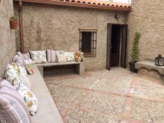 Renovación del patio... Casa rural www.losabuelosdemengabril.com