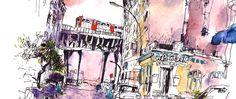 Urban Sketching – Intensivkurs