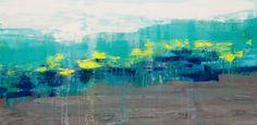 "'Lithosphere 144 ' by Hilary Winfield | $750 | 48""W x 24""H x 1""D | Original Art | http://vng.io/pauli_clariday @VangoArt"