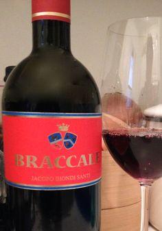 Jacapo Biondi Santi Braccale Rosso 2011 is Wine of the Week for January 8, 2015 on www.EatSomethingSexy.com