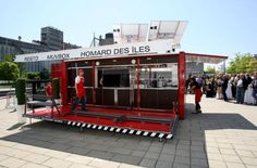 Another awesome restraurant business made from a shipping container. Muvbox, which has installed pop-up restaurants in places like Montreal and Paris made from shipping containers. Just an awesome idea.