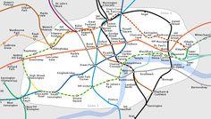 London Underground full map