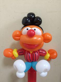 Twist Balloon  SESAME STREET  Ernie  @gussy00balloon