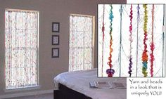 String curtains beaded curtains and curtains on pinterest