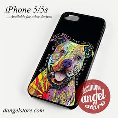 Dog Abstract Pitbull Phone case for iPhone 4/4s/5/5c/5s/6/6 plus