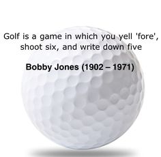 Golf Quote of the day