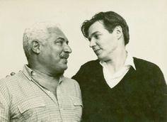 Dorival Caymmi e Tom Jobim no Rio de Janeiro, 1964.  Veja mais em: http://semioticas1.blogspot.com.br/2012/10/caras-do-brasil.html  Veja também: http://semioticas1.blogspot.com.br/2012/01/musica-segundo-tom-jobim.html