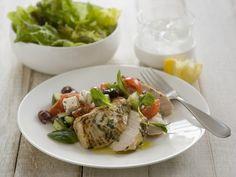 Leichtes Zitronenhähnchen mit Minze Rezept | EAT SMARTER