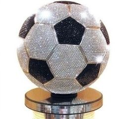 World's Most Expensive Soccer Ball.  Facebook: facebook.com/FloridaYouthSoccer  Twitter: @FYSA Soccer  Website: www.fysa.com
