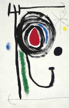 Joan Miró (1893-1983) L'étoile insaisissable