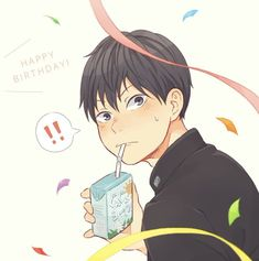 Haikyuu Kageyama, Haikyuu Fanart, Kagehina, Haikyuu Anime, Anime People, Anime Guys, Manga Anime, Tsukkiyama, Haikyuu Volleyball