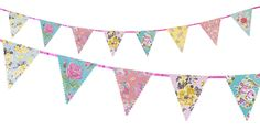 Party Ark's 'Truly Scrumptious Charming Bunting'
