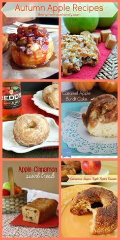 Autumn Apple Recipes www.thenymelrosefamily.com #applerecipes