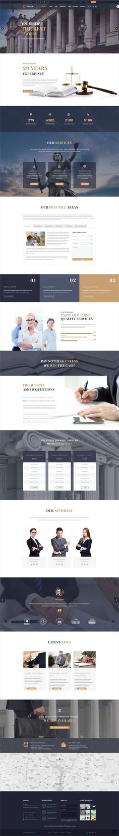TheGem is creative multipurpose #PSD template for awesome #lawyer #lawfirms websites and huge variety of design or web projects with 50+ homepage layouts & 200+ layered PSD files download now➩ https://themeforest.net/item/thegem-creative-multipurpose-psd-template/19746346?ref=Datasata