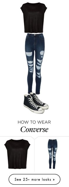 """250513 MSH"" by mil0000000000000 on Polyvore featuring Converse"