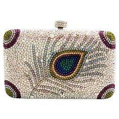 crystal handbags | Found on fashiolista.com