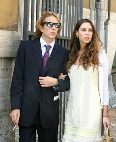 Andrea Casiraghi y Tatiana Santo Domingo se casan en 2013 Andrea Casiraghi, Princess Grace Children, Real Life Princesses, Estilo Hippy, Hippy Chic, Monaco Royal Family, Moda Paris, Royal House, Glamour