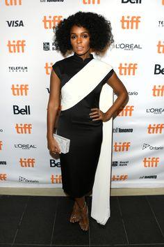 Janelle Monae at the Toronto International Film Festival Best Celebrity Dresses, Celebrity Style, Toronto Film Festival, Gamine Style, Vanessa Jackman, L'oréal Paris, International Film Festival, Red Carpet Fashion, Signature Style