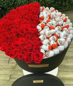 Things to Know about Deals on Valentine's Day Flowers Online Valentines Flowers, Valentine Day Gifts, Valentine Box, Edible Arrangements, Flower Arrangements, Cadeau Surprise, Birthday Goals, Luxury Flowers, Candy Bouquet