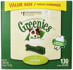 Greenies 36 oz Canister Teenie 130 Count The Nutro Company http://www.amazon.com/dp/B006W6YHYQ/ref=cm_sw_r_pi_dp_SlvOtb09Y89PMEXT