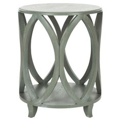 Janika Side Table in Ash Grey.
