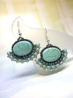 Hey, I found this really awesome Etsy listing at https://www.etsy.com/listing/157443699/pale-green-turquoise-glass-seed-beads