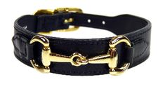 Gucci Poochie Italian Leather Dog Collar - Midnight Black-Midnight Jet Black is an classic and timeless color choice for your designer leather dog collar, now your pup can have their own designer swag! The 'Gucci Poochie' handcrafted designer dog col Dog Collars & Leashes, Leather Dog Collars, Dog Leash, Dog Harness, Luxury Dog Collars, Designer Dog Collars, Designer Dog Clothes, Gucci Dog Collar, Shih Tzu