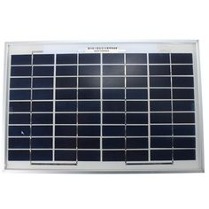 10W 12V 345mm x 230mm x 18mm Poly Crystalline Cells Solar Panel