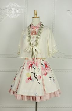 Magnolia Poem Qi Miss Point Lolita Jumper Dress