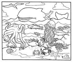 Free Printable Ocean Coloring Pages For Kids | Word free, Ocean ...