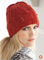 My favorite type of fall hat.  Slouchy and crotched.
