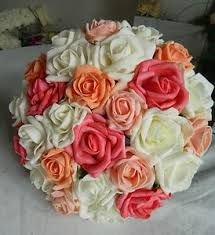 coral wedding flowers - Google Search