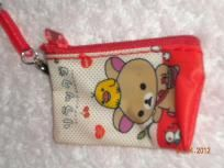 Cute Mini Coin Purse / Mesh Bag / Pouch / SD Cards Wallet, USB, Battery, Keys, FREE SHIPPING
