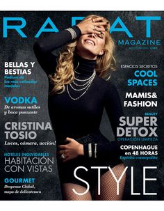 Cristina Tosio cover for Rabat Magazine shot by the fashion photographer Xavi Gordo represented by 8AM -  8 Artist Management  | #artistmangement #fashion #editorial #Elle #8artistmanagement #xavigordo ★★ 8AM / 8 Artist Management ★★  more photos in http://8artistmanagement.com/