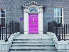 A Colorful Look Behind the Doors of Dublin