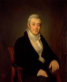 De Joodse jurist Jonas Daniël Meijer (1780-1834), een kleinzoon van Benjamin Cohen, kreeg van koning Lodewijk Napoleon een centrale rol toegewezen bij de organisatie van de Joodse gemeenten als voorzitter van het Opperconsistorie. Olieverfschilderij van Louis Moritz, ca. 1830.
