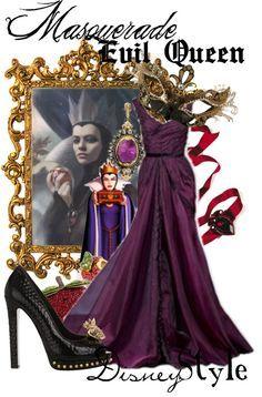 evil queen disneybound dapper - Google Search