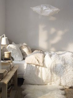Steal This Look: Serene Scandinavian Winter Bedroom