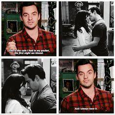 """And I always have it."" {gif} #newgirl"